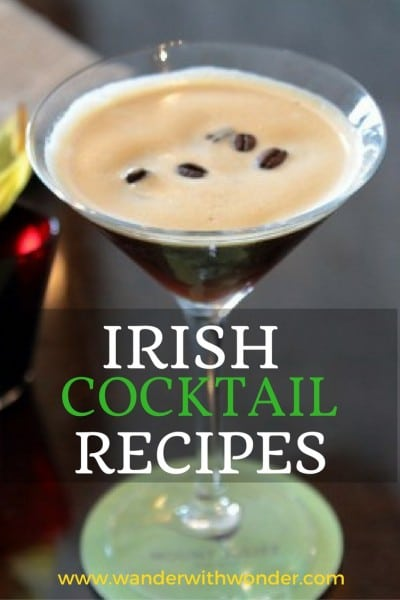 Ireland's known for Guiness, whiskey, & sheep it also has a Cocktail Scene! Recipes for fantastic Irish Cocktails from the Blue Book Hotels