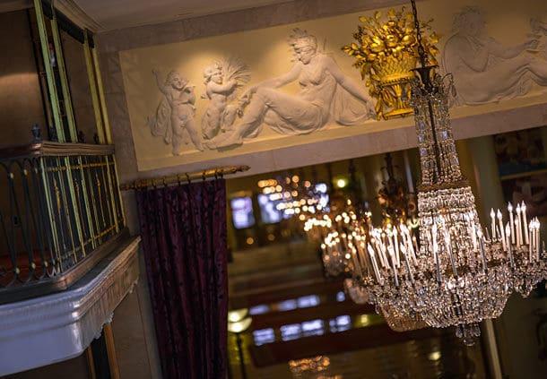 The Mayflower Hotel lobby. Photo courtesy Marriott Hotels