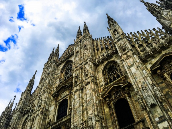 Wow moments of 2016. Milan Cathedral, Italy in April. Photo by Susan Lanier-Graham