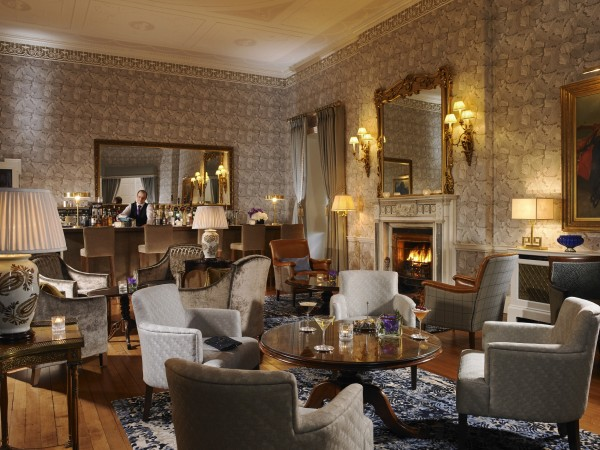 The bar at Mount Juliet Hotel Kilkenny is the perfect place for a martini.