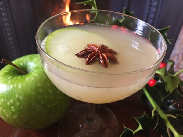 At Newforge House, sip the ultra-complicated but delicious Mulled Gin Appletini