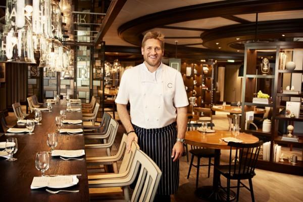 Chef Curtis Stone inside SHARE. Photo courtesy Princess Cruises