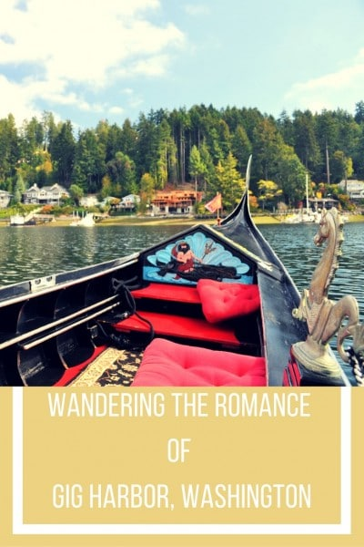 Lara wanders Gig Harbor, Washington discovering that there is romance to be found in its twinkling harbor lights and sunset mountain views.