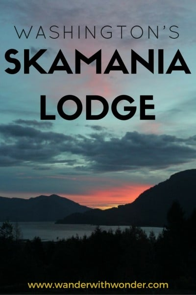 Escape to Skamania Lodge in Washington where there is just one needed amenity: the view of the Columbia River Gorge.