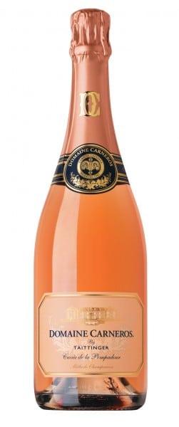 Domaine Carneros Brut Rosé Cuvée de la Pompadour. Photo courtesy Domaine Carneros