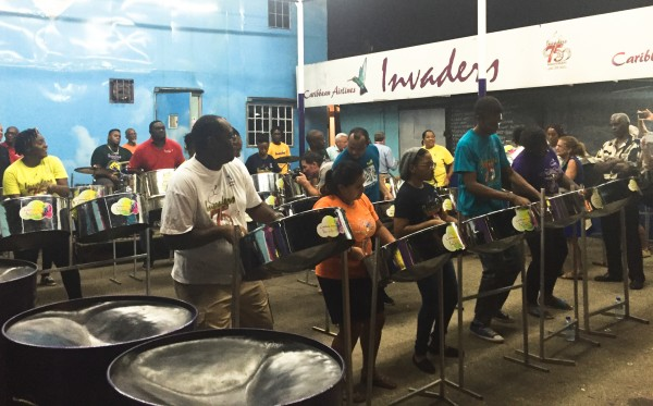 Steelpan band Invaders Trinidad