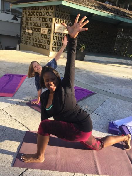 Karen Blackman yoga sangha trinidad