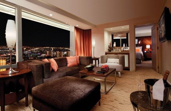 ARIA Corner Suite. Photo courtesy MGM Resorts