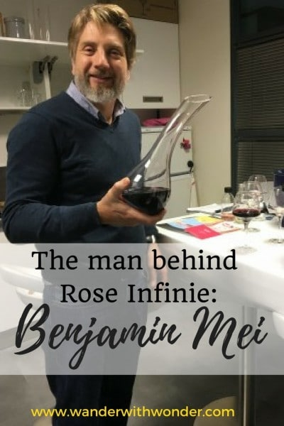 Wander to France, meet Benjamin Mei & get to know his specific approach to wine from the area of Provence under the label Rose Infinie.