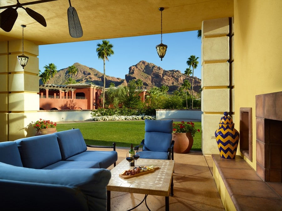 Camelback Presidential Suite. Photo courtesy Omni Scottsdale Resort & Spa at Montelucia