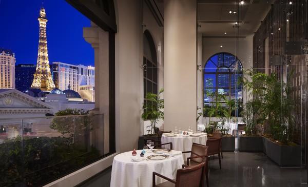 Dining at Guy Savoy Las Vegas. Photo courtesy Caesars