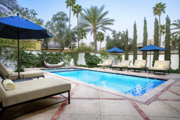 Pool at the Andalusian Presidential Suite. Photo courtesy Omni Scottsdale Resort & Spa at Montelucia