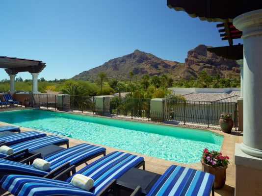 Joya Pool. Photo courtesy Omni Scottsdale Resort & Spa at Montelucia