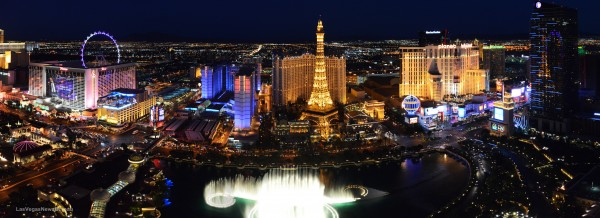 Las Vegas Strip Photo courtesy LVCVA