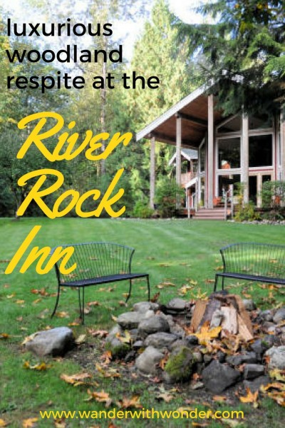 Escape the hustle & bustle of modern life to the welcoming, luxurious woodland respite of the River Rock Inn in Arlington, Washington.