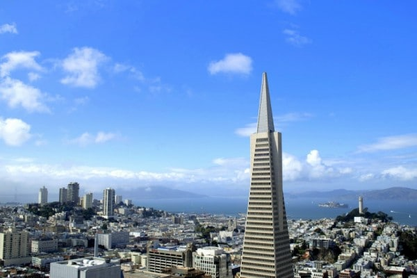 View from my hotel room at Loews Regency San Francisco. Photo by Susan Lanier-Graham