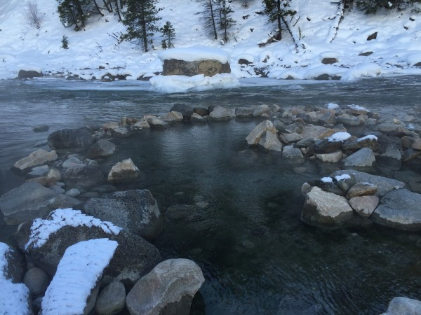 Sunbeam Hot Springs Idaho