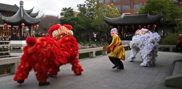Lion and Dragon Dance