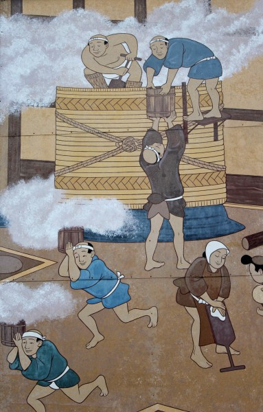 Japanese Sake Mural