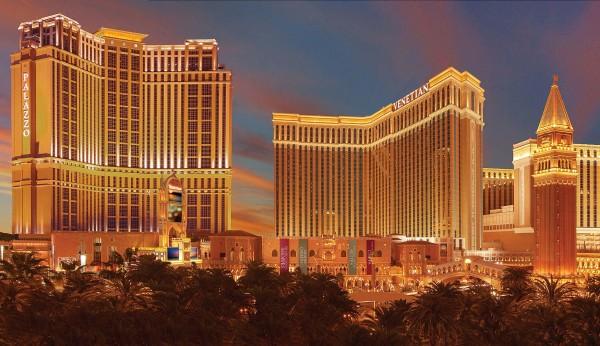The Venetian and Palazzo exterior in Las Vegas. Photo courtesy The Venetian and Palazzo