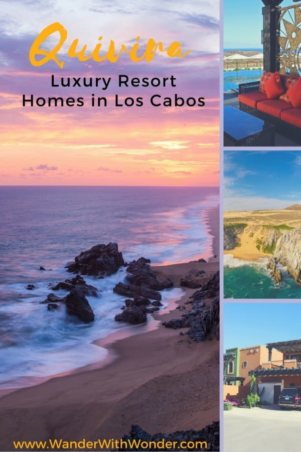 You can be on vacation forever and never have to leave your favorite resort if you buy a luxury resort home at Quivira Los Cabos in Mexico.