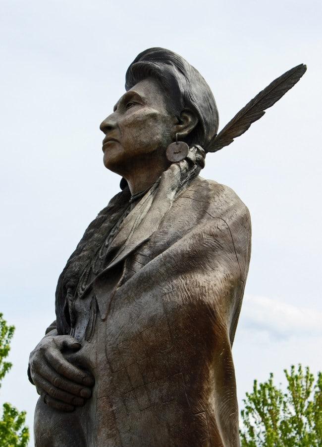 Chief Joseph in Joseph, Oregon