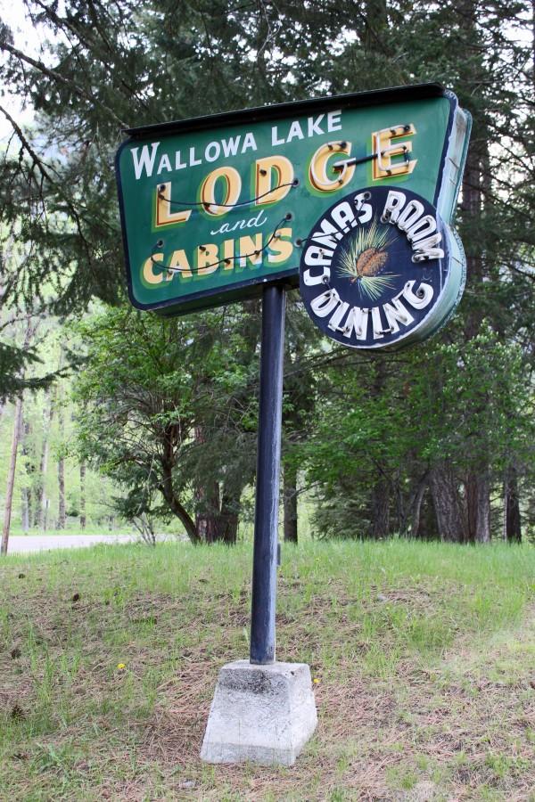Wallowa Lake Lodge near Joseph, Oregon