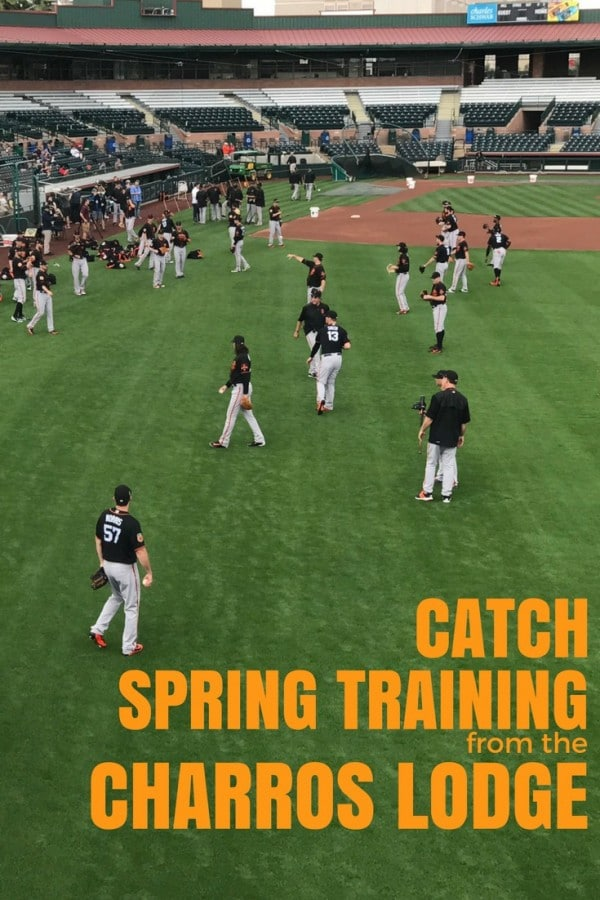 Head out to the ball game with the San Francisco Giants for spring training and give back to the community by catching it from the Scottsdale Charros Lodge!