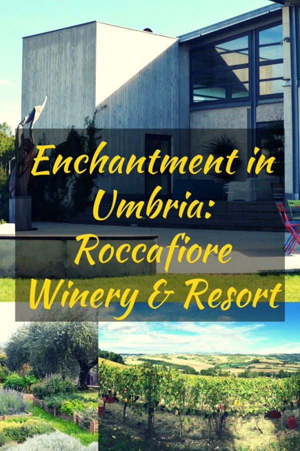 Umbria is sure to enchant you no matter what season you visit, especially the Roccafiore Winery & Resort in the hills of Italy.