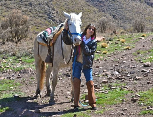 Horseback Riding in the Andes Outside of Mendoza Remembering Mendoza