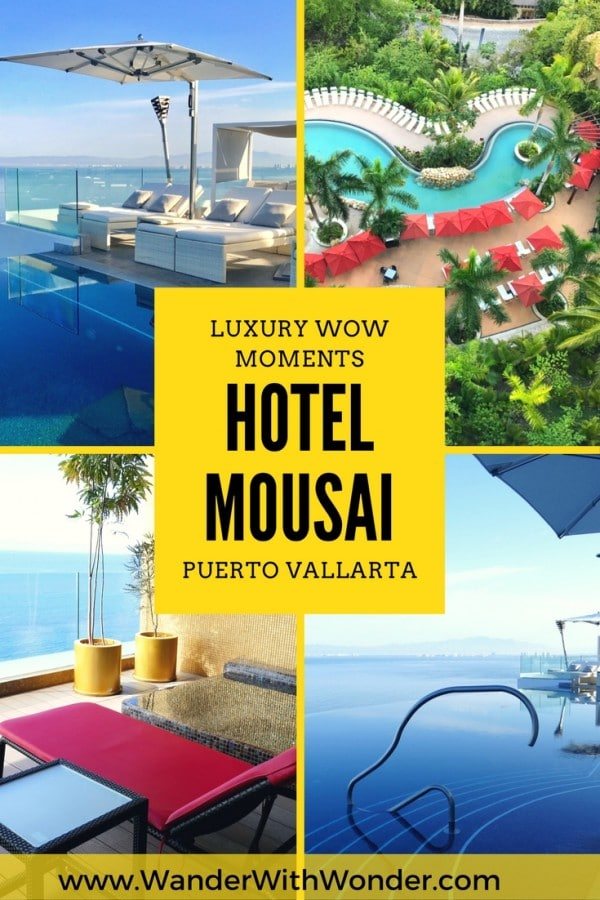 Hotel Mousai—the only AAA Five Diamond resort in Puerto Vallarta, Mexico—is filled with wow moments. Come along and discover a few luxury wow moments.