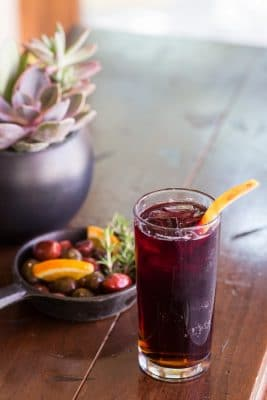 Enjoy Sangria and Tapas at Mbar during happy hour Thursday through Sunday. Photo courtesy Omni Scottsdale Resort & Spa at Montelucia.