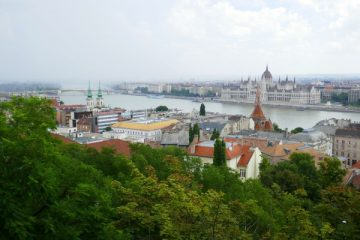Budapest Hungary at the end of the Danube Viking River Cruise