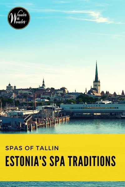Enjoying Estonian spa traditions is an important part of understanding Estonian culture. Visit two of Tallin's spas to explore Estonian spa traditions.
