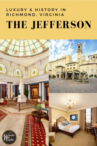 As a guest of The Jefferson, I discovered its stately grandeur and luxurious amenities offer plenty of wow moments, almost around every corner.