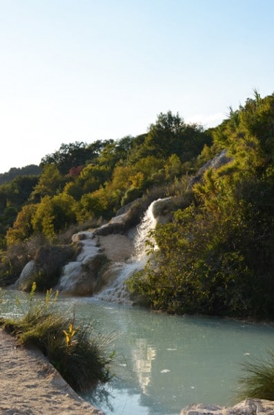 The Thermal Springs near Spa Hotel Adler and Bagno Vignoni