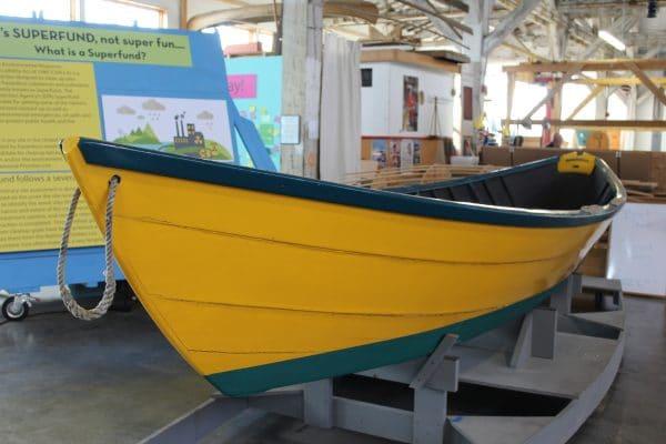 Grand Banks Dory Boat Tacoma