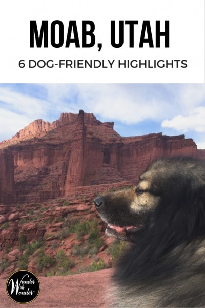 Don't leave your pets at home when you take off for adventure travels! These are the best places to include your furry friends while hiking the lesser known wonders near Moab, Utah. #adventure #NationalParks #Utah #PetFriendly #Travel #hiking