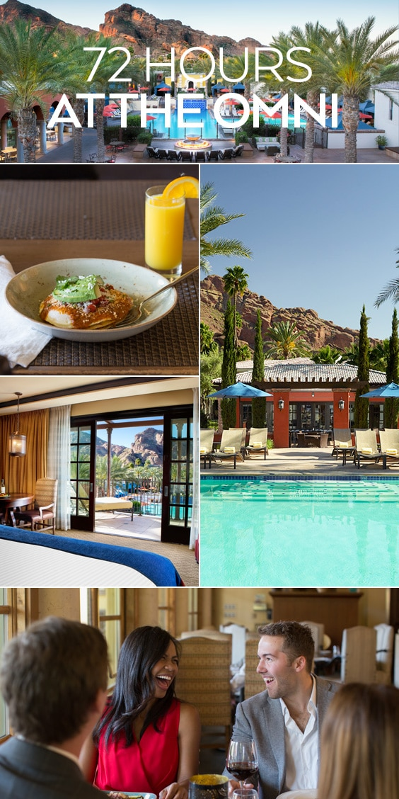 Here is your comprehensive guide to the perfect 3-day summer getaway at Omni Scottsdale Resort & Spa at Montelucia in Arizona.