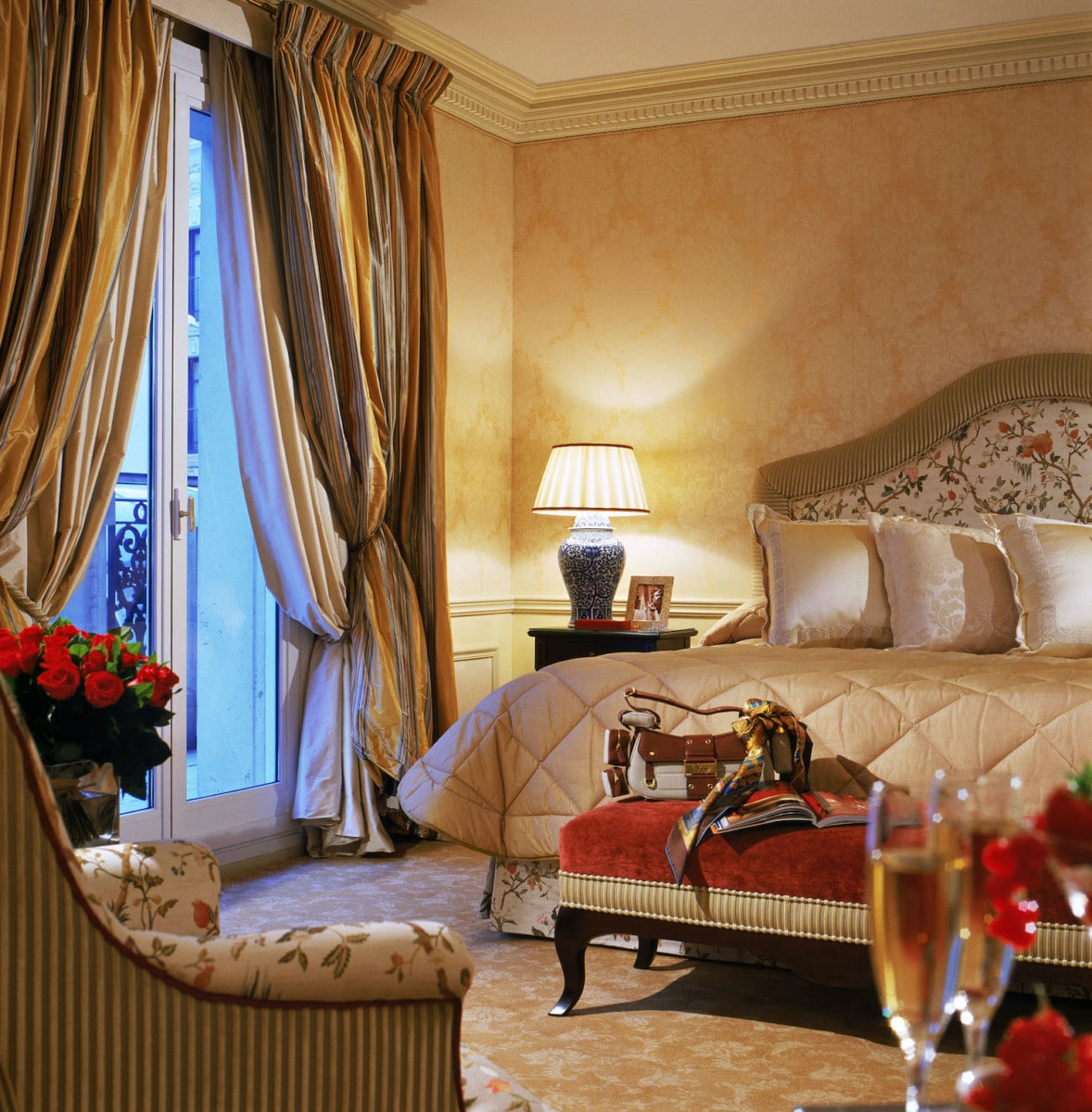 I stayed in a beautiful Junior Suite Deluxe at Hotel Métropole. Photo by F.Rambert, courtesy Hotel Métropole