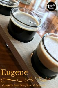You can explore Eugene, Oregon's vibrant craft beer scene along the Eugene Ale Trail complete with a tasting passport to help you discover local brews.