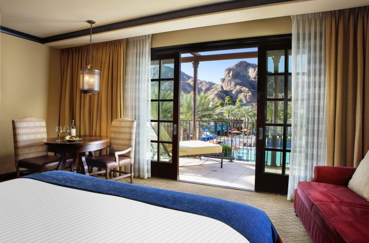 Grand Mountain View King Guestroom at Omni Scottsdale Resort & Spa at Montelucia