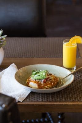Be sure to order Huevos Rancheros at Prado. Photo courtesy Omni Scottsdale Resort & Spa at Montelucia