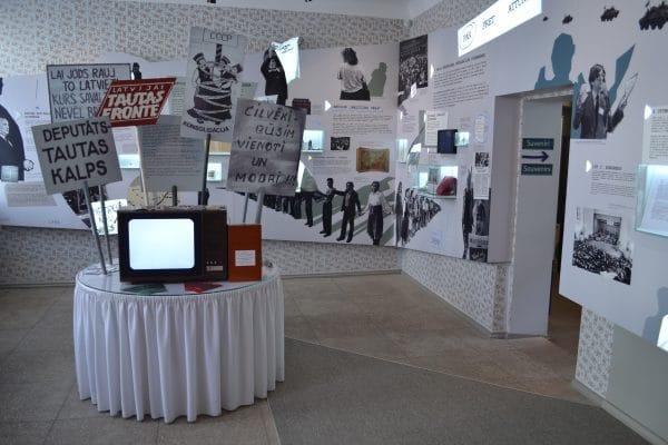Latvia's Popular Front Museum - Iron Curtain Tourism