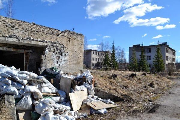 Skrunda-1 Soviet Ghost Town in Latvia - Iron Curtain Tourism