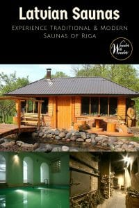 Experience the sauna culture of Latvia, where it's possible to have both traditional pirts experience and contemporary saunas in the hip capital city of Riga.