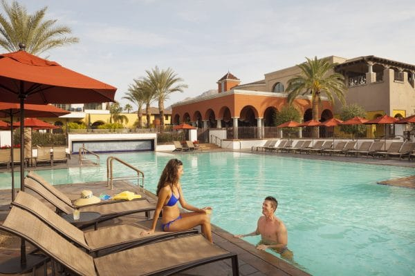 Enjoy time at the Montelucia Pool. Photo courtesy Omni Scottsdale Resort & Spa at Montelucia