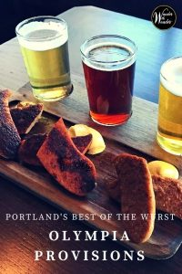 Olympia Provisions is a mainstay on Portland, Oregon's food scene. Head to OP Wurst on Division Street for handcrafted sausages and creative cocktails.