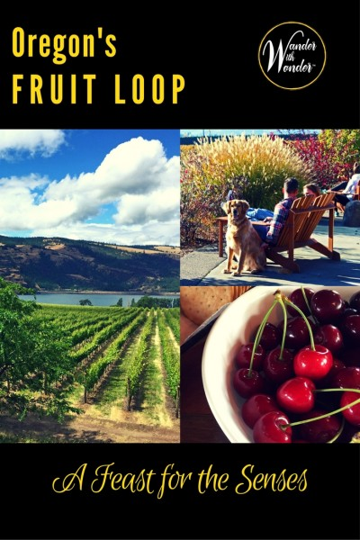 The Fruit Loop, in Oregon's Hood River area, makes for a great Spring destination. Get away from the city for food, wine, views and relaxation.