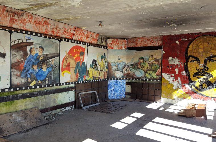 Skrunda Graffiti - Iron Curtain Tourism